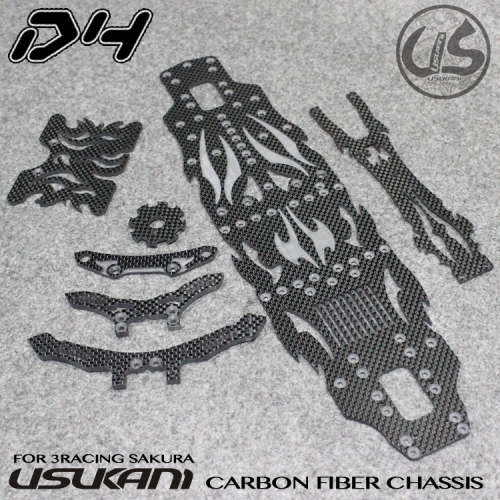D4/CF optionset/for 3Racing/Sakura/(BLACK)