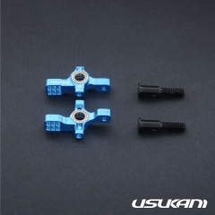 Usukani/For RWD/AR Ver2.0 Front Steering Hub With Bearing/2pcs