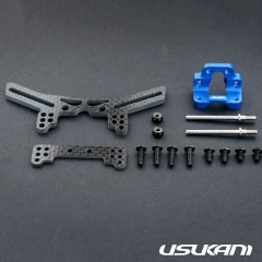Usukani Front suspension Structural System for Yokomo DPR